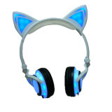 Cute LED Light Glowing Cat Ear Christmas Gift 2017 Hot New Products