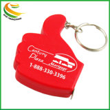 Promotional Items Mini Finger Shaped Tape Measure with Keyring