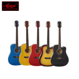 China Aiersi High Quality Color 41 Size Dreadnaught Acoustic Guitar