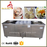 Thailand Style Commercial Single Flat Pan Fried Ice Cream Roll Machine