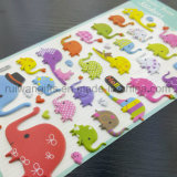 Wholesale Animal Designs EVA Foam Sticker Sheet for Kids Play