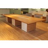 Modern Design Melamine Type Office Desk with Side Return