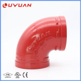 FM/UL Approved Grooved Pipe Fittings for Fire Fighting System