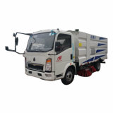 HOWO Light Small Mini Cleaning Washing Road Sweeper Truck for Street Airport