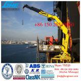Marine Pedestal Marine Crane Telescopic Jib 2.5t@20m