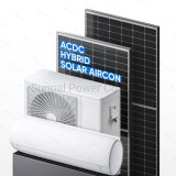 100% AC DC Hybrid Solar Powered Inverter Air Conditioner Heat Pump System Prices Room Office House and Home Use