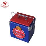 Cheap Portable Metal Vintage Cooler Box