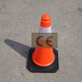 Plastic Traffic Safety Cone 50cm Cheap Easy Carried