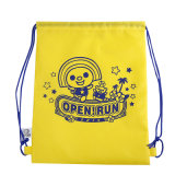 Soft Material Kids Sport Drawstring Backpack