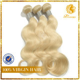 Hair Extension Super Quality Blonde #613 Virgin Remy Hair Full Cuticle Body Wave Hot Sell Hair Extension (TFH-NL0026)