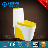 China Colorful Ceramic Sanitary Ware Toilet (BC-2027-W)