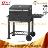 3-5 Persons Large Garden Euro Barbecue Smoking Grill Trolley Charcoal BBQ