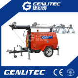 Portable Mobile Light Tower with 5kVA Diesel Generator