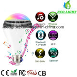 4W Wireless Bluetooth Speakers Lamp Colorful LED RGB Light Bulb Speaker Audio Music