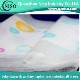 New Design Embossed Textile Backsheet Nonwoven Fabric for Baby Diaper Raw Materials