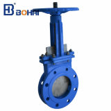 Knife Gate Valve Flange Type and Cast Iron Body