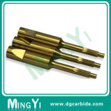 Precision Tin Coating Tungsten Carbide Punch with Key Groove