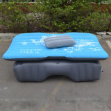 Travel Mattress Air Bed Inflatable Thicker Back Seat (blue)