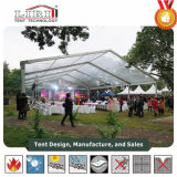 Aluminium PVC Tent Marquee Structure Hanger with Decoration for Sales