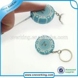 Design Sample Free Metal Retractable Keychain Badge Reels