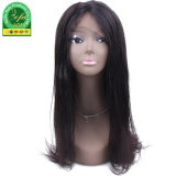 High Quality Yaki Straight Frontal Lace Wig 100% Human Hair Lace Front Wig