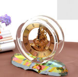 Handmade Crystal Clock for Wedding Favors