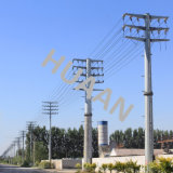 Power Transmission Galvanized Dead End Iron Steel Tube Mono Pole