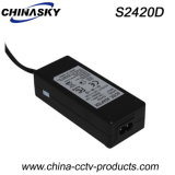 CE Approved Desktop Power Adapter for CCTV Security System (S2430D)