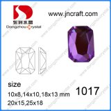 High Quality Flat Back Crystal Octangon Stones for Jewelry