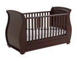 Hot Selling Baby Cot with Drop Side with Drawer
