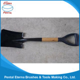 Square Shovel with Wooden Handle