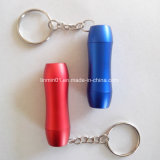 Custom Aluminum 3 LEDs Flashlight with Keychain for Promotion Gift