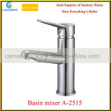 Sing Lever Pull out Brass Basin Mixer with Acs Approved