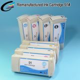 Factory Direct Wholesale Remanufactured Ink Cartridges for HP 91 Ink Cartridge Z6100 with Chip