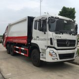 Dongfeng 6 X 4 Dustbin Tank Garbage Dump Truck