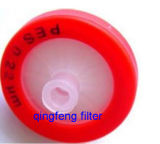 Disposable Medical Pes Syringe Filter with Free Sample