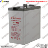 Deep Cycle Battery 2V 600ah Solar Project Battery Cl2-600