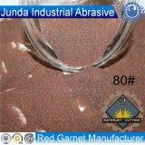 Abrasive Garnet Sand 80 Mesh for CNC Water Jet Cutting