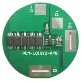 1s 12A 3.6V China Protection Circuit Module Battery BMS