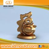 High Quality CNC Manufacturer Aluminum Gold Plate Prototype