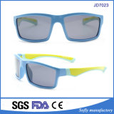 High Quality Soft Touch Rubber Material Kids Sunglasses with Polarized UV400