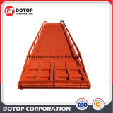 10t Container Loading Unloading Load Ramp Hydraulic Mobile Yard Ramps