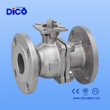2PC High-Platform Floating Flange Ball Valve