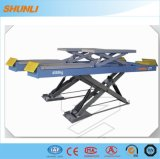 4500kg Ce Approvel on-Ground Double Level Scissor Lift for Wheel Alignment