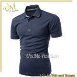 Good Price Fitness Black Man's Polo Shirt Factory China