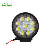 12V 24V 27W 6000K LED Head Light for off-Road ATV Tractor Forklift Round Square LED Work Lights Auto Lamps Car LED Auxiliares Auto Moto Alta Baja Faro LED