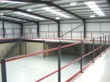 Steel Inustrial Building with Mezzanine