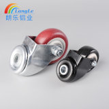 Light Duty Top PU Round Hole Rotating Caster Wheels