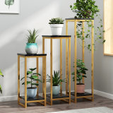 Cheap New Modern Metal Plants Shelf Living Room Furniture Cabinet Side Decoration Stand