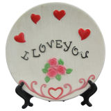 Ceramic Craft Plate for Home Decoration